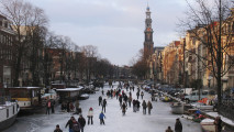 Amsterdam's City Center Pictured To Resettlements Outside The City