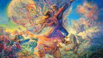 Awesome Heaven Wall Fantasy Art Paintings