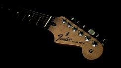 Fender Stratocaster Background Winter Wallpaper