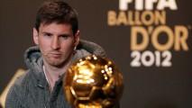 Messi And Ballon Dor 2012 Photo Picture Image Gallery