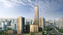 3D Graphics City Amazing Widescreen HD Wallpaper