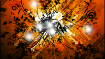 Orange Black Abstract Vector High Quality Wallpapers Image