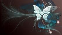 Vector Background Butterfly Art Desktop Fresh Floral Wallpaper