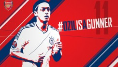 Mesut Ozil Is A Gunner HD Wallpaper Arsenal HD Widescreen Desktop