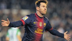 Favorite Football Player Lionel Messi Wallpaper In 2013