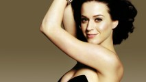 Beautiful Katy Perry Black Dress Wallpaper HD Widescreen