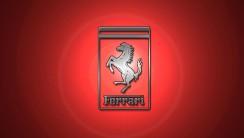 Amazing Ferrari Logo Red Background HD Wallpaper Picture