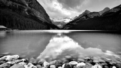 Beautiful Nature HD Wallpaper Black And White Free Download