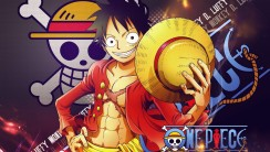 New World Monkey D Luffy One Piece Cartoon Manga HD Wallpaper Image