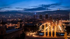 Barcelona When Night Come Photo And Picture Sharing