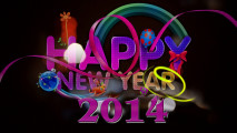 Free Download HD Wallpaper Image Background Happy New Year 2014