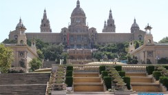 Barcelona City Catalunya Art Museum National Albums HD Wallpaper