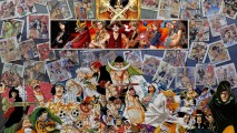 One Piece All Characters Anime Manga Wallpaper HD Widescreen Free
