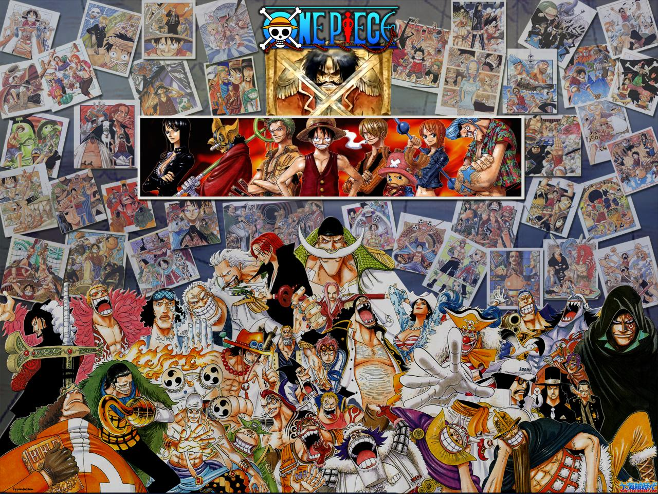 One Piece Characters Wallpaper | Free | Download