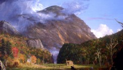 Mountain Fine Art Painting HD Wallpapers Picture Widescreen Desktop