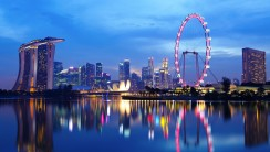 Beautiful Singapore The City Of The Lion Tourist Holiday Picture Photo