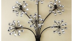 Awesome Flowe Black And White Decorative Art Photo Picture
