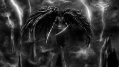 Awesome Dark Angel And Swords Wallpaper Image Picture Desktop