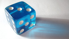 Blue White Dice Photo Picture HD Wallpaper Background Free Download