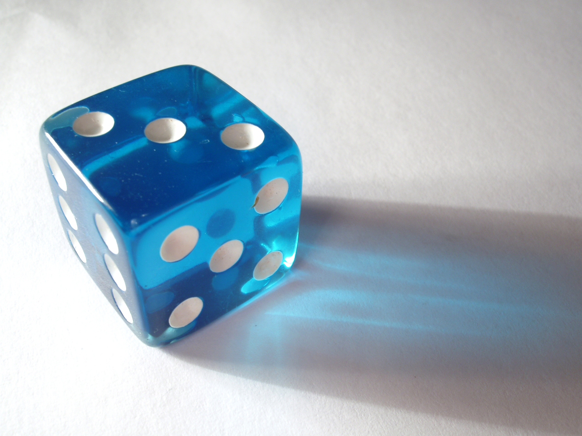 gallery for blue dice wallpaper