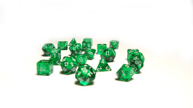 Many Different Green Dices White Background HD Wallpaper Image