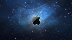 Amazing Mac HD Wallpaper Image Blue Dark Background