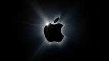 Black Apple Logo HD Wallpaper Background For PC Desktop And Mac