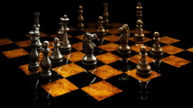 3D Chess Game Picture HD Wallpaper For Your PC Desktop