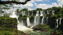 Beautiful Iguazu Falls HD Wallpaper Widescreen For PC Computer