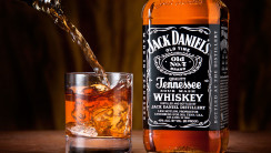 Jack Daniels And Glass Alcohol Drink Photo Picture Free