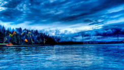 Beautiful Blue Water Nature HD Wallpaper Picture Free Download