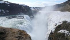 Amazing Gulfoss Waterfall HD Wallpaper Widescreen For PC Computer