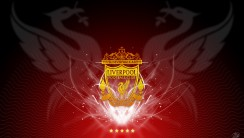 Liverpool FC Logo YNWA Slogan HD Wallpaper Desktop Free Download