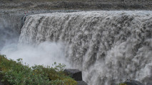 Dettifoss Waterfall Iceland The Largest Waterfall In Europe Pictures