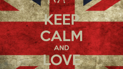 Keep Calm And Love Chrissiy Costanza Cover HD Wallpaper Image
