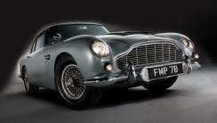 Aston Martin James Bond classic car