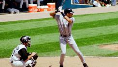 Derek Jeter at Bat HD Wallpaper