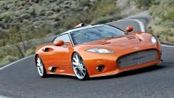 Aston Martin Spyder HD Wallpaper