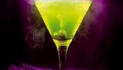 Green and Purple Martini HD Wallpaper