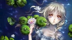 Anime of Young Woman HD Wallpaper