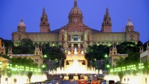 Museum of Art in Barcelona Spain HD Wallpaper