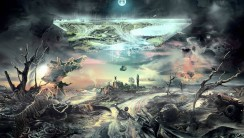 Desolate World Abstract HD Wallpaper