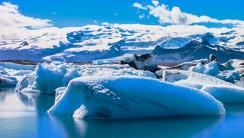 Winter in Iceland HD Wallpaper