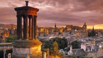 Stewart Monument Edinburgh Scotland HD Wallpaper