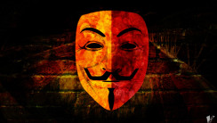 Galatasaray Anonymous Mask Auto Logo HD Wallpaper