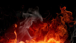 Dancing Flames HD Wallpaper