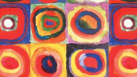 Farbstudie Quadrate Abstract HD Wallpaper