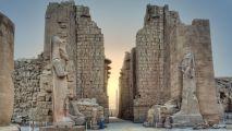 Karnak Temple Luxor Egypt HD Wallpaper