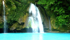 Kawsan Falls Philippines HD Wallpaper