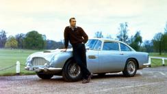 Sean Connery James Bond Aston Martin HD Wallpaper